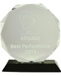 3rd Best performer 2013